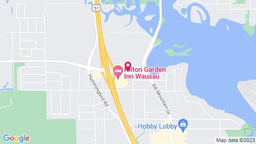 Hilton Garden Inn Wausau Map