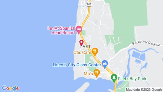 Ocean Terrace Condominiums Map