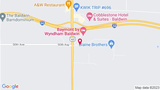 Baymont by Wyndham Baldwin Map