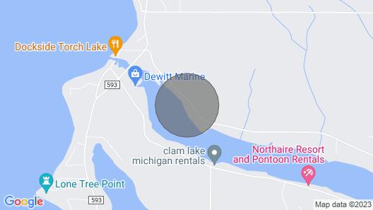 Clam Lake Condo      Map
