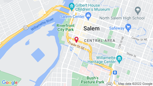 The Grand Hotel - Salem Map