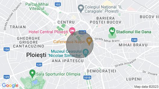 Saturn Central Apartment Ploiesti Map