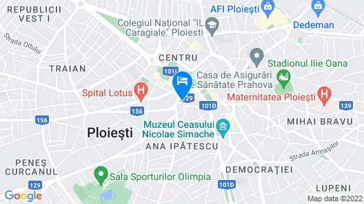 Boutique Hotel Villa Bijoux Map