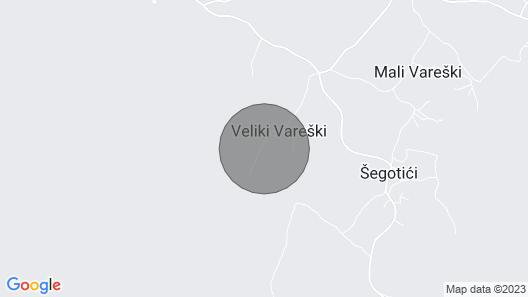 Casa Luka Vareski on the Southeast Coast of Istria Map