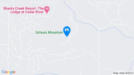 Schuss Village Shanty Creek Resort Map