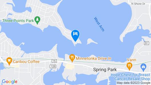 Waterfront Luxury Retreat Lake Minnetonka Map