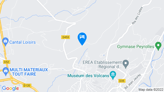 Chambres & Table d'hotes de Massigoux  Map