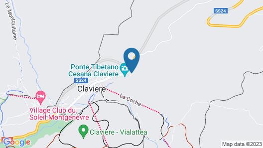 Hotel Clari Map