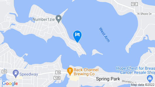 Lakefront Luxury Map