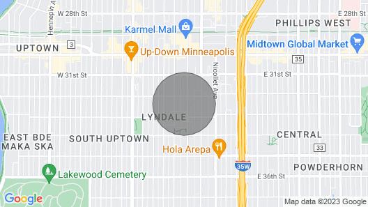 Top Floor of Uptown Apartment Map
