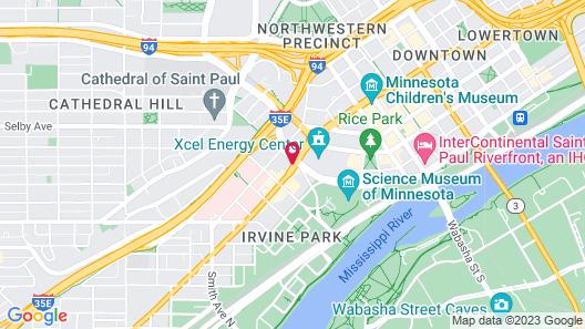 Holiday Inn St. Paul Downtown, an IHG Hotel Map