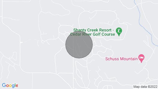 Private CHALET in SHANTY CREEK RESORTS...Golf-Ski-Boating-Fishing Destination !! Map