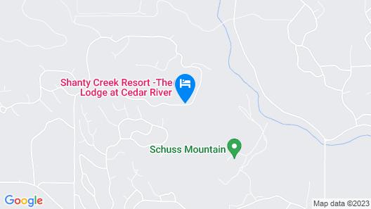 The Lodge at Cedar River, Shanty Creek Resort Map