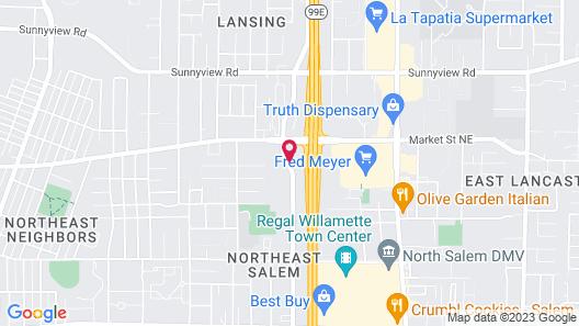 Doubletree by Hilton Salem Map