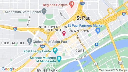 Celeste of St Paul Map