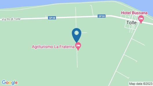 Agriturismo La Fraterna Map