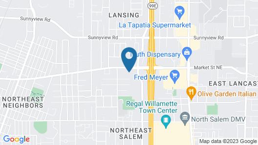 Shilo Inn Suites - Salem Map