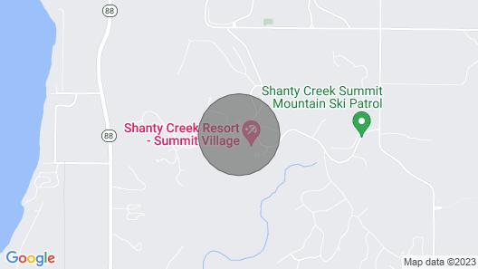 Shanty Creek Resort, steps away from everything!! Map