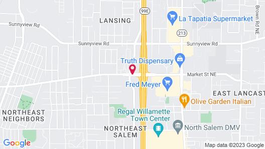 Holiday Inn Salem Map