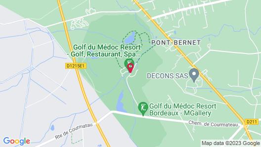 Golf du Médoc Resort Map