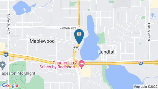 LivINN Hotel St. Paul – I-94 – East 3M Area Map