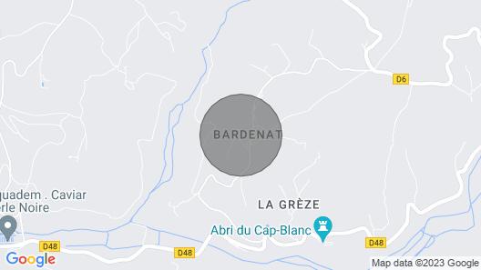 Gîtes de Caractère Dans Ancienne Ferme, Piscine Dans Parc Arboré Map