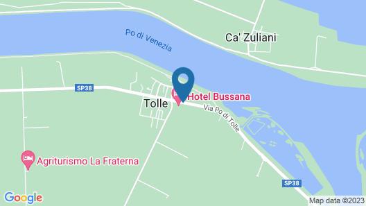 Hotel Bussana Map
