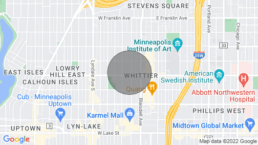 Huge Beautiful 2-story Apartment in a Great Neighborhood Map