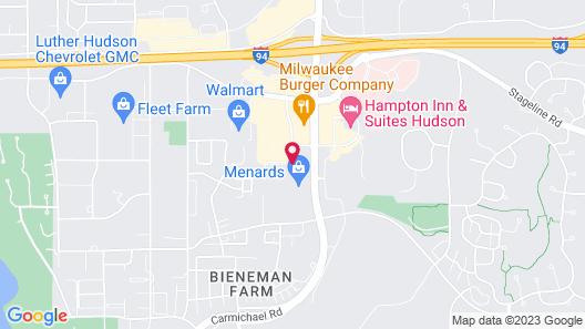 Best Western Plus Hudson I-94 Map