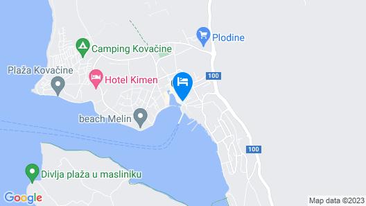 Apartment Ruza Map