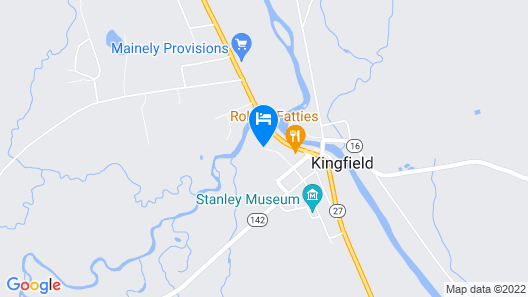 Inn on Winters Hill Map