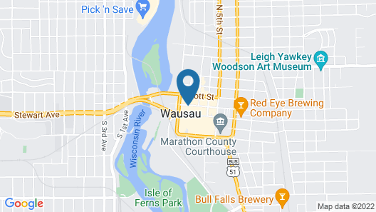 Jefferson Street Inn Map