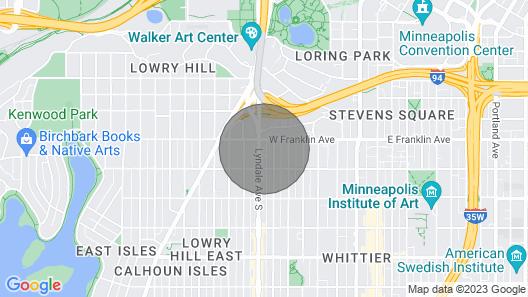 Sonder - MODI - Near Walker Art Center Map