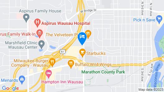 Reliance Inn Map