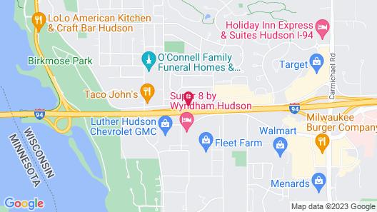 Royal Inn- Hudson Map