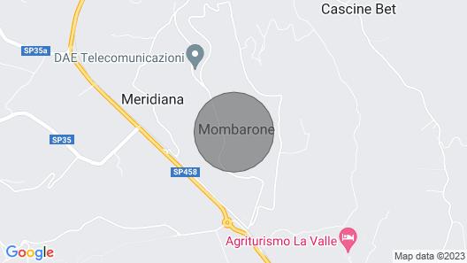 Vacation Home Castello di Mombarone in Asti - 12 Persons, 5 Bedrooms Map