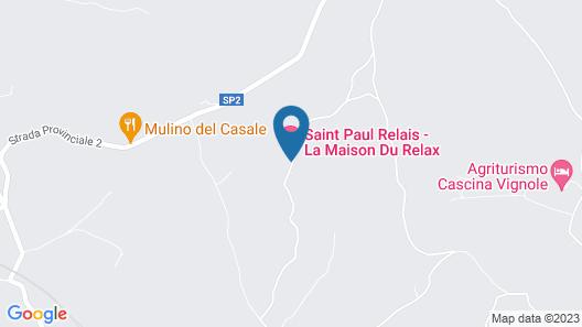 Saint Paul Relais Map