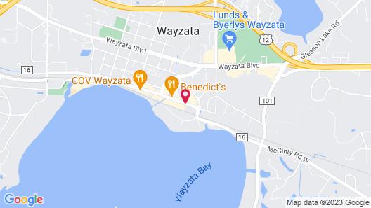 The Hotel Landing Map