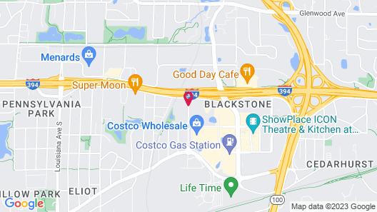 Springhill Suites Minneapolis St Louis Park by Marriott Map