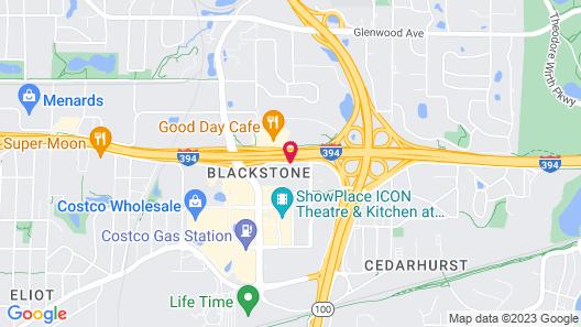 Homewood Suites by Hilton St Louis Park at West End Map