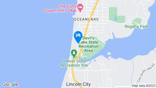 Best Western Plus Lincoln Sands Oceanfront Suites Map