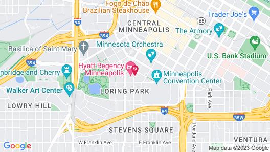 Millennium Minneapolis Map