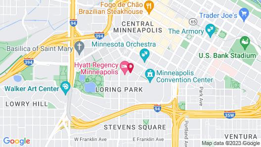 Hyatt Regency Minneapolis Map