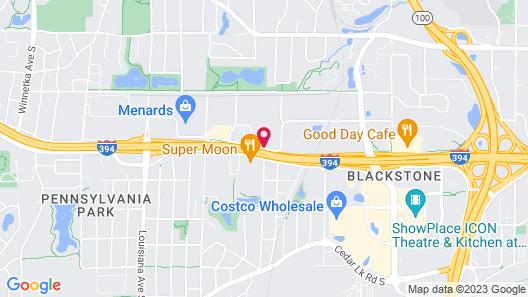 Ramada by Wyndham Minneapolis Golden Valley Map