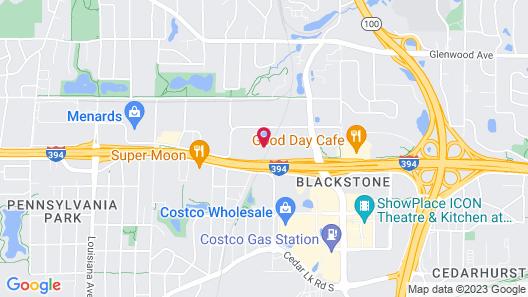 Holiday Inn Express Minneapolis - Golden Valley, an IHG Hotel Map