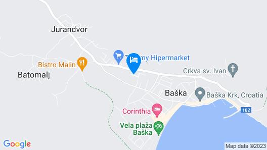 Villa Valis Map