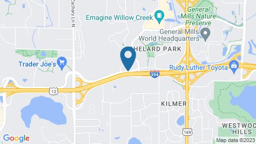 La Quinta Inn & Suites by Wyndham Minneapolis-Minnetonka Map