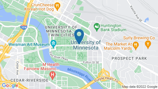 Graduate Minneapolis Map