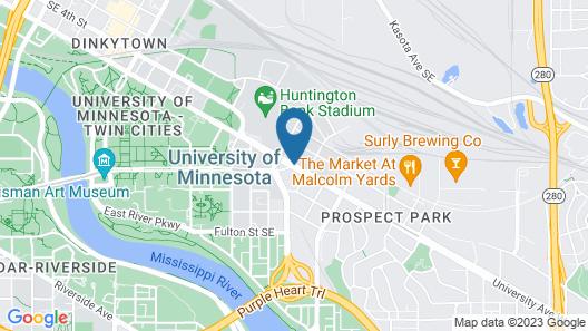 Days Hotel by Wyndham University Ave SE Map
