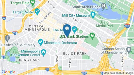 Hyatt Place Minneapolis Downtown Map